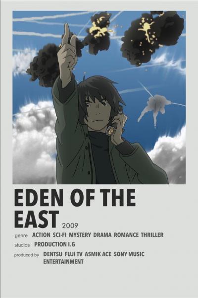 Eden Of The East พากย์ไทย จบแล้ว